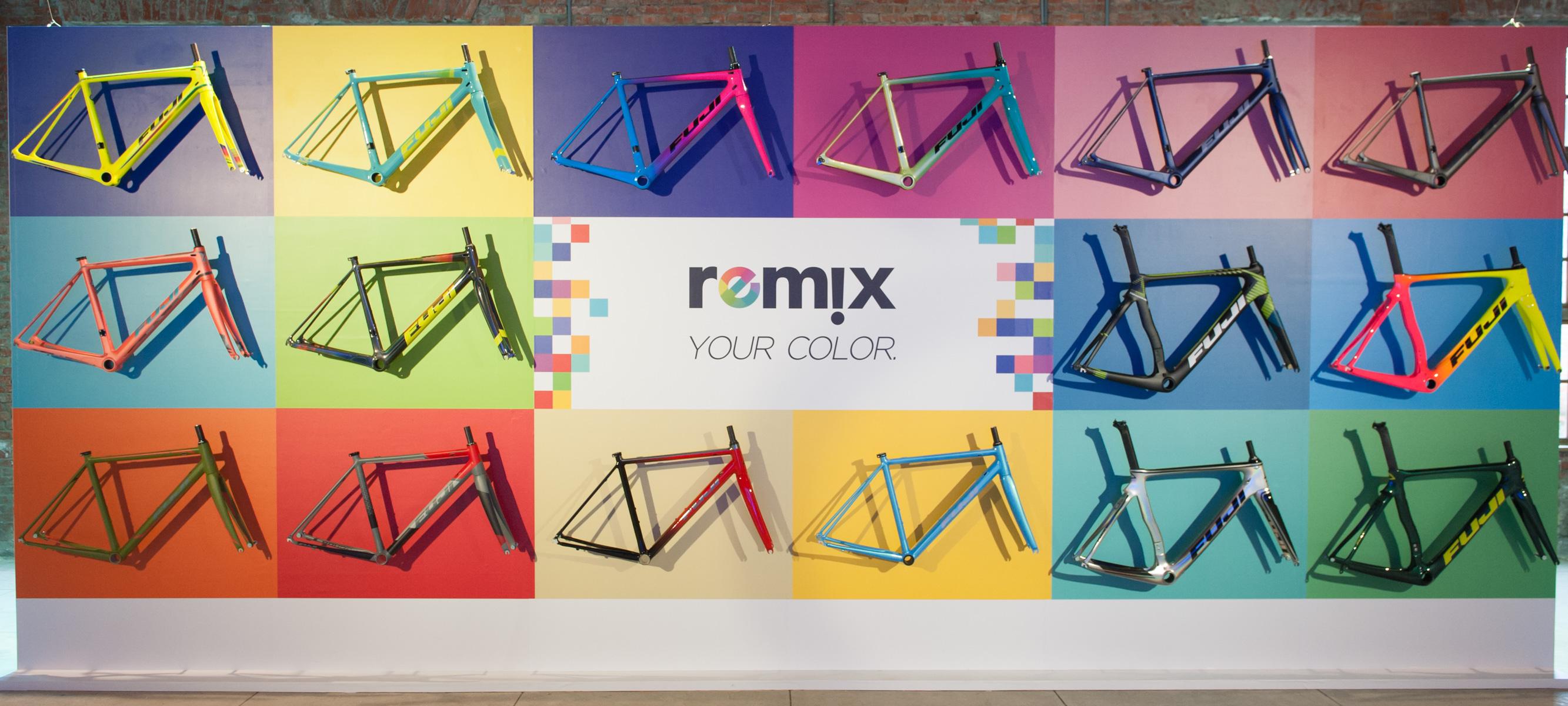 玩新花樣 FUJI推出REMIX客製配色 - 單車誌-Cycling update